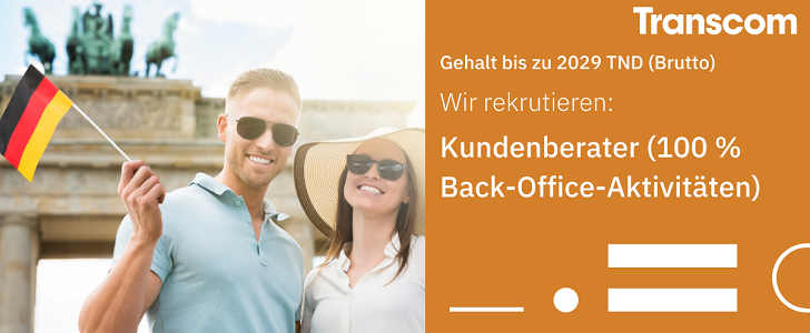 Des Agents Relation Client – German